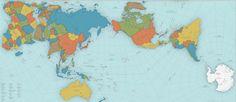 Cómo trasladar una esfera a una representación plana ha sido el principal problema de la cartografía desde sus comienzos.  Durante siglos el sistema que predominó fue la proyección de Mercator, que el famoso cartógrafo empleó por vez primera en su mapamundi de 1569. El problema es que, a pesar de