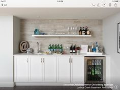 basement bar designs home bar transitional with walk up bar basement contemporary beverage refrigerators Entertainment Center Makeover, Entertainment Center Kitchen, Diy Entertainment Center, Entertainment Weekly, Layout Design, Diy Design, Design Ideas, Cafe Bar, Pottery Barn
