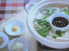 湯豆腐  2015年11月4日 [NHKきょうの料理ビギナーズ] . . .  Tofu Nabe