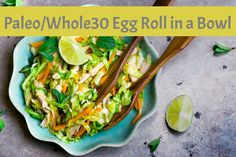 I love Asian food- Pho, Fried Rice, anything wrapped in a wonton- basically anything that can be paired with Soy Sauce or Wasabi is my friend. However, after adopting a mostly clean and Paleo lifestyle, and especially during a Whole30 cycle, wontons, rice, and soy are a no-go.  I've been working on this recipe for…