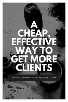 """Great for photographers who are on a budget!! This short episode shares an awesome way to form a strategic """"team"""" that finds clients for you. :)"""