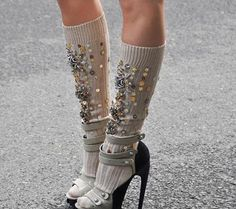 These are basically all I want for Christmas!! Miu Miu socks !!!