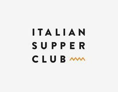 """Check out this @Behance project: """"Italian Supper Club"""" https://www.behance.net/gallery/29248225/Italian-Supper-Club"""