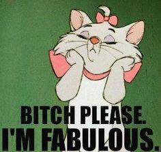 Fabulous kitty quote via www.Facebook.com/WildWickedWomen