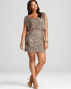 b72effa7740 Aidan Mattox Plus Sequin Dress - Cap Sleeve Women - Plus - Dresses -  Bloomingdale s