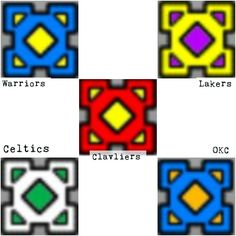 geometry dash icons for your favorite basketball teams there are way more possibilities these