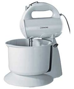 Buy Cookworks HM729WB Hand Mixer with Bowl - White at Argos.co.uk, visit Argos.co.uk to shop online for Hand mixers