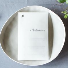 Vellum Menu by Willo