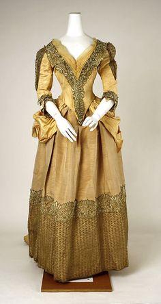 Dress    1885-1889    The Metropolitan Museum of Art