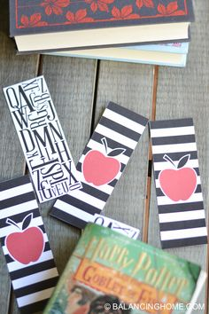 Back to School Printable Bookmark.