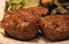 Spicy Bison & Sausage Meat Muffins