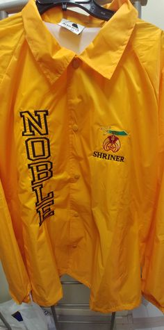 a5be22c09b4 Shriner embroidered scimitar logo nylon Noble line jacket. PriScillia Sales  · Shriner Noble · Past Potentate of the Shrine logo emblem adjustable ball  cap ...