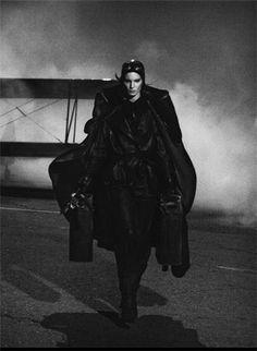 Hermes flight photo shoot