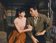 Elvis and Millie Perkins