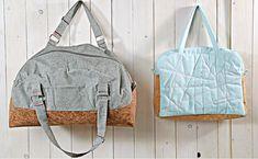 Video-Kurs zum Taschen-Nähen mit Kork Sling Backpack, Drawstring Backpack, Weekender, Love Jeans, Shopper, Herschel Heritage Backpack, Fashion Backpack, Backpacks, Sewing