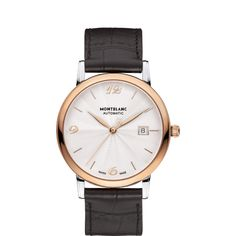 MontBlanc Luxury Watches Collection; created perfect timepieces by our master craftsmen.  #luxurywatches #timepieces #men #women #gifting ideas #elegent #silver #black #gold http://www.johnsonwatch.com/mont-blanc.php