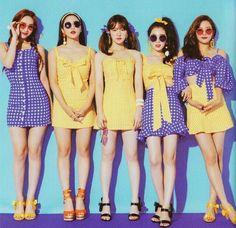 Red velvet summer magic power up Seulgi, Stage Outfits, Kpop Outfits, Red Velvet Irene, Black Velvet, Red Velvet Wendy, Red Velvet Photoshoot, Red Velet, Good Girl