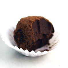 Easy Organic Chocolate Truffles