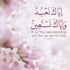 Surah Al-Fatihah (The Opener) Doa Islam, Islam Beliefs, Islam Quran, Quran Verses, Quran Quotes, Muslim Quotes, Islamic Quotes, Islamic Art, Real Love