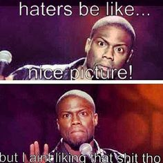 kevin hart haters be like nice picture