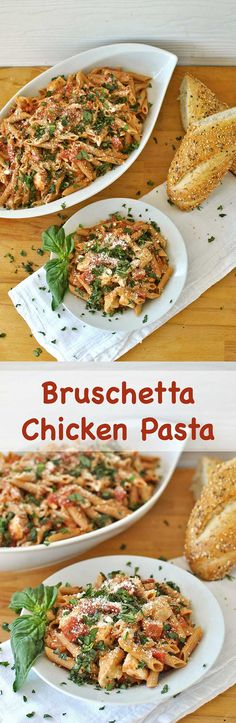 Make it a Viva Italia Night with Bruschetta Chicken Pasta! Hunt's, Progressive and Kraft ingredients come together to make an affordable & delicious home-cooked Italian dinner that will bring the whole family together in the kitchen. Becky's Best Bites #PublixVivaItalia #ad