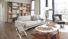 Muji interior design from DECOmyplace