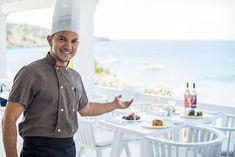 Cala Tarida - White Ibiza Ibiza Beach Club, Ibiza Restaurant, Diving School, Who Goes There, Beach Volleyball, Lifeguard, Almost Always, Men Casual, Mens Tops