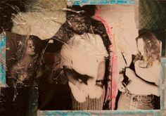 Allen Vandever; Chicago; cotemporary; new; yoga; nude; epoxy; artist; abstrac; new; collage; Chicago Artist