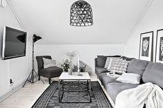 Nápaditý interiér v tlumených barvách   LALA design - Spolu s vámi tvoříme domov