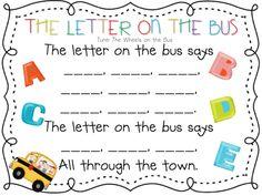 Preschool: Alphabet song that teaches letter sounds. Preschool Music, Preschool Letters, Learning Letters, Kindergarten Literacy, Preschool Classroom, Classroom Ideas, Classroom Chants, Preschool Homework, Preschool Garden