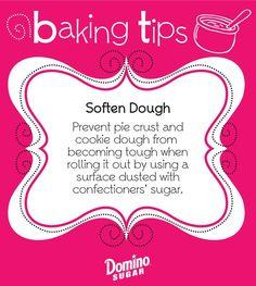 Baking/Cooking Tips DIY Craft Ideas diy craft project ideas Baking Secrets, Baking Tips, Bread Baking, Kids Baking, Pie Recipes, Cooking Recipes, Cooking Hacks, Halal Recipes, Gastronomia