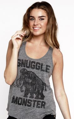 snuggle monster tank