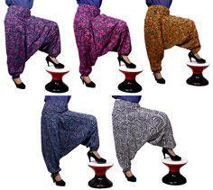 5pcs Yoga Trouser Baggy Genie Harem Pants Boho Hippie Design Pants Wholesale Lot #Handmade #CasualPants Christmas Gifts#New Year Gifts