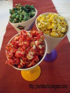 Palomitas de colores | Cocinar en casa es facilisimo.com