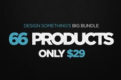 [$29] Shop Bundle - 66 Products by DesignSomething on Creative Market