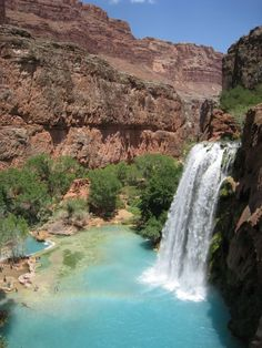 Havasu Falls, AZ in Grand Canyon