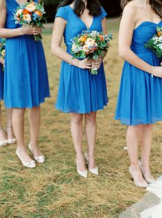 Blue. J. Crew. Photography: Untamed Heart Photography - untamedheartphotography.com