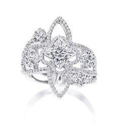 Louis Vuitton Les Ardentes diamond ring