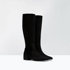 ZARA - WOMAN - SOFT LEATHER BOOT