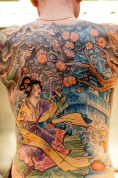 #tattoo #Japanese #geisha