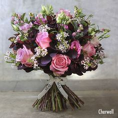 Beautiful new autumnal collection of bouquets from McQueens | Flowerona…