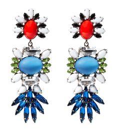 Twitter / swarovski: The earrings by DANNIJO