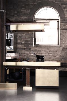 A Kitchen With Industrial Look Designed by Tom Dixon   DesignRulz.com