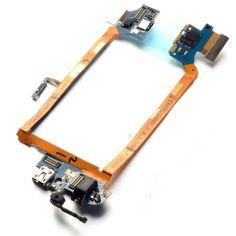 For LG G2 D803 Mic Headphone Jack USB Charging Port Flex Cable repair parts 154