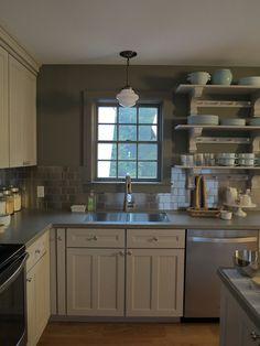 This Is Martha Stewartu0027s Kitchen (the Actual Martha Stewart). She Used  Stainless Steel. Kitchen RenoKitchen CabinetsHome Depot ...
