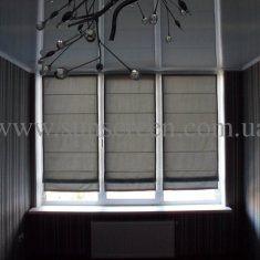 Римская штора - строгость форм и  практичность.
