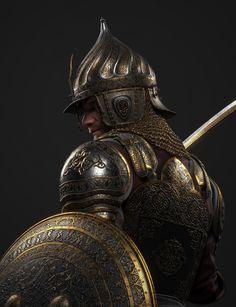 Fantasy Battle, Fantasy Armor, Character Concept, Character Design, Warriors Wallpaper, Arabian Art, Air Fighter, Islamic Paintings, Black Panther Marvel