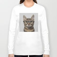 Hipster are cool, or at least they think they are.  Cats are cool, or at least they think they are. So what better combination than an Hipster Cat? I personally love to humanize animals, but with cats I always get the most hilarious results. So check out the range of t-shirts with Hipster Cat and enjoy.