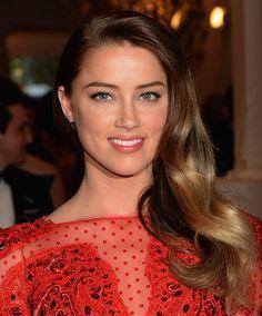 Amber Heard brown hair