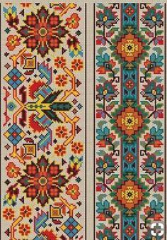 Cross Stitch Pattern Sampler Vintage Borders by MyTreasureIsland, - Pamukkopek Cross Stitch Bookmarks, Cross Stitch Borders, Crochet Borders, Counted Cross Stitch Patterns, Cross Stitch Designs, Cross Stitching, Seed Bead Patterns, Loom Patterns, Beading Patterns